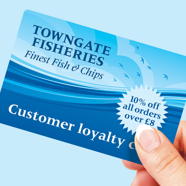 Towngate Fisheries Loyalty Card