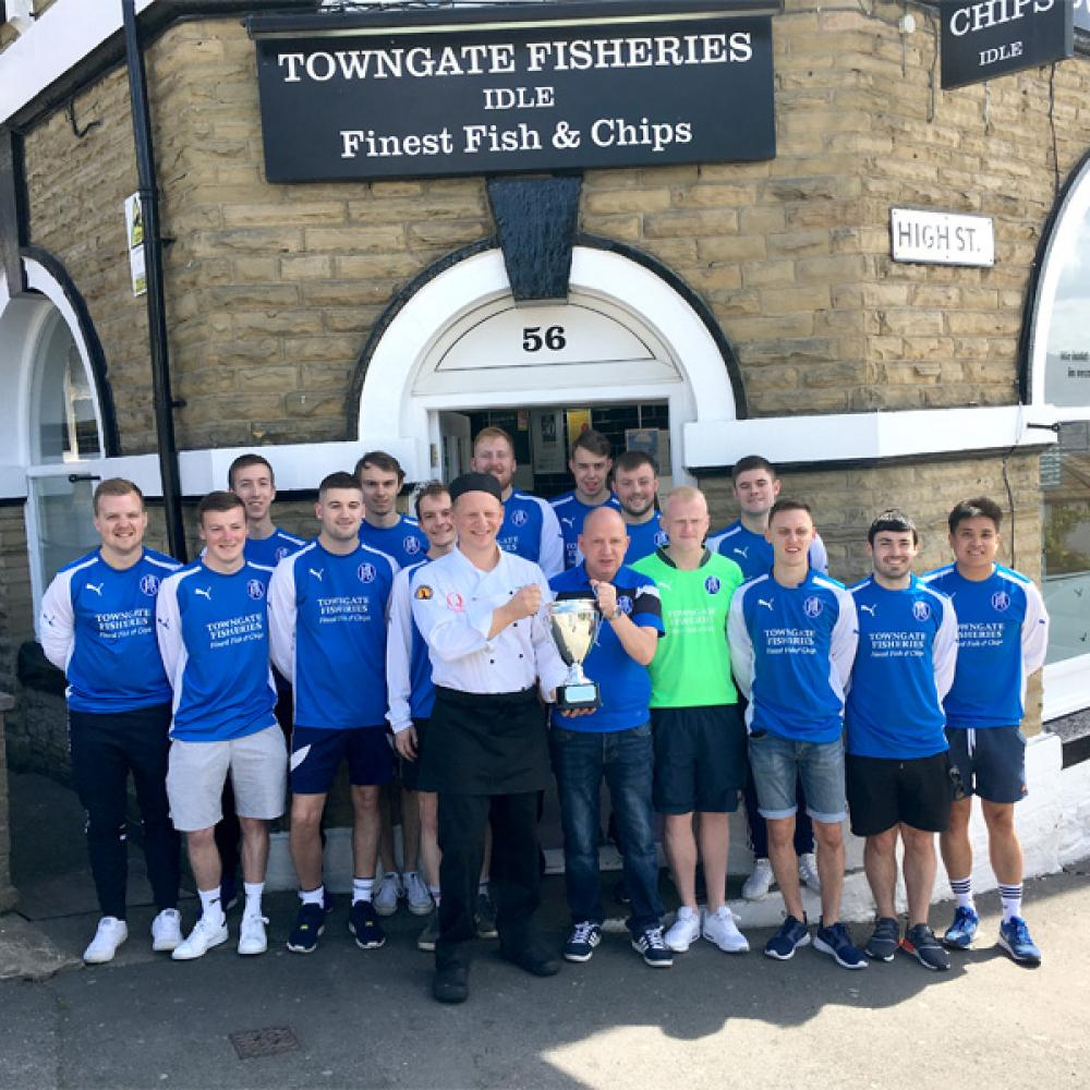 Towngate Fisheries, sponsors of Idle FC