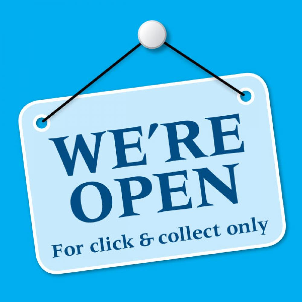 Open for Click & Collect at Towngate Fisheries, Idle