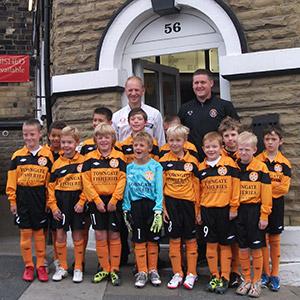 Towngate Fisheries sponsors Bradford Tigers 2012