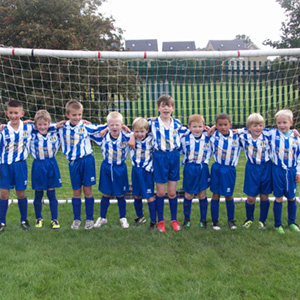 Towngate Fisheries sponsors Eccleshill Under 8s Football team 2011