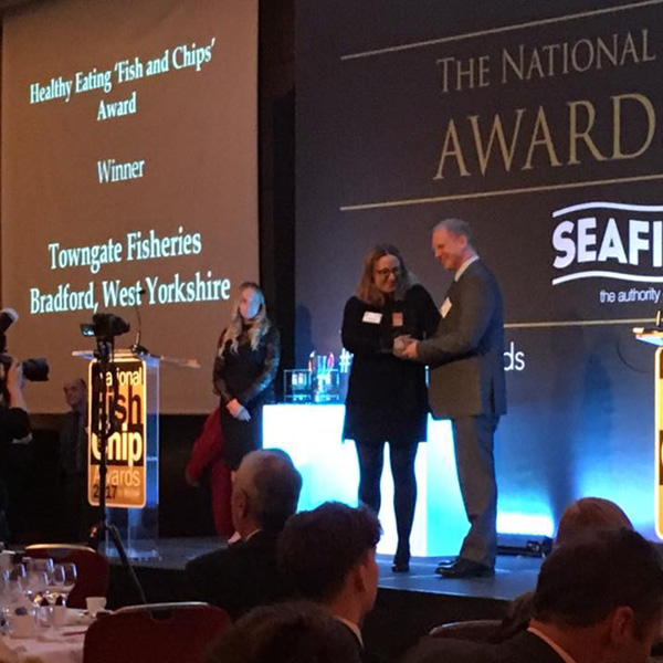 Towngate Fisheries wins National Fish and Chip Award