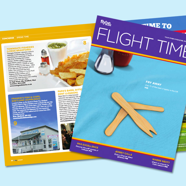 Towngate Fisheries features in FlyBe Magazine